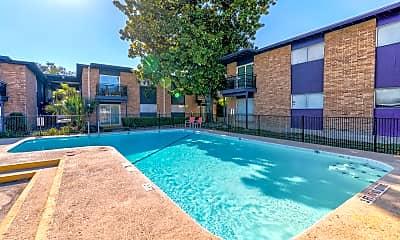 Pool, Magnolia Flats, 1