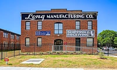 Community Signage, Long Lofts, 1