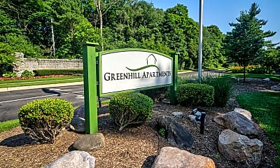 Community Signage, Greenhill Apartments, 2