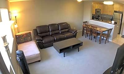 Living Room, 3440 Lebon Dr. #4305, 0
