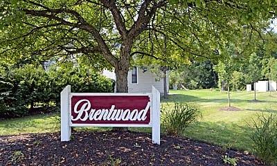 Community Signage, Brentwood Apartments, 2