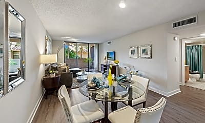 Dining Room, Meadow Walk Apartments, 1