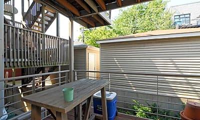 Patio / Deck, 728 N Willard Ct, 2