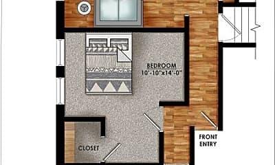 Bathroom, 630 Bellefonte St, 2