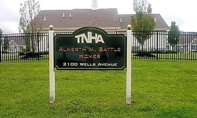 Almerth M Battle Homes, 1