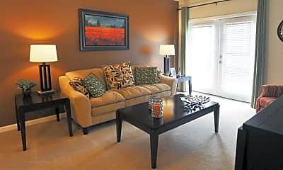 Living Room, Lake Ridge Apartments, 1