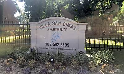 Villa San Dimas, 1