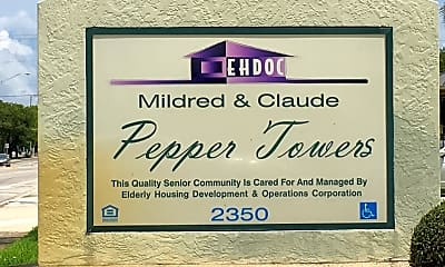 Mildred & Claude Pepper Towers, 1