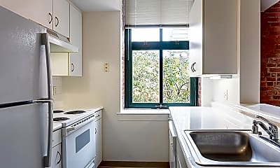Kitchen, Ninth Square Apartments, 0