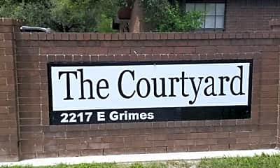 Community Signage, 2217 E Grimes St, 1