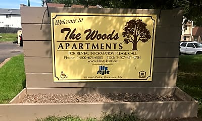 Woods Apartments, 1