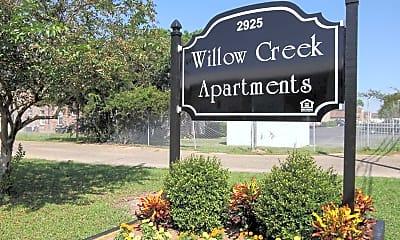 Community Signage, Willow Creek, 2