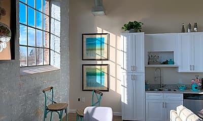 Kitchen, Bellevue Mill Apartments, 2