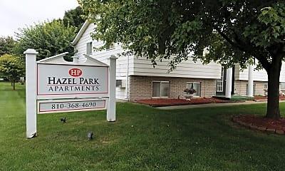 Hazel Park Apartments, 1