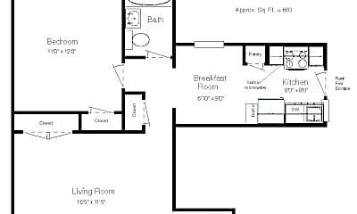 Bedroom, 1042 McCausland Ave, 2