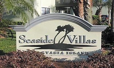 Community Signage, Seaside Villas, 2