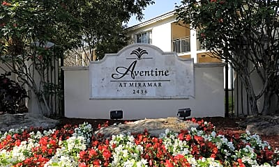 Community Signage, Aventine at Miramar, 2
