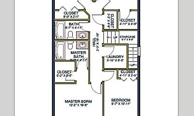 226 E Whitman Dr #2 upper floor plan SQ.png, 226 E Whitman Dr, Unit 2, 0