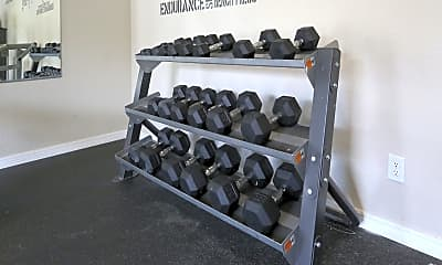 Fitness Weight Room, Sterling Park, 2