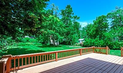 Patio / Deck, 305 W 96th Terrace, 2