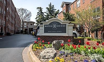 Community Signage, Hayes House Hillsboro, 2