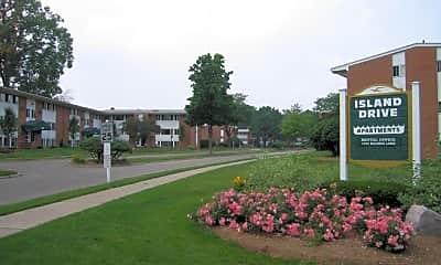 Community Signage, Island Drive Apartments, 2