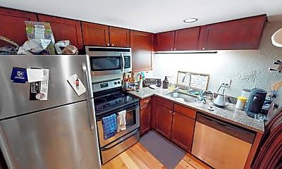 Kitchen, 17 Bow Street, Unit 37, 1