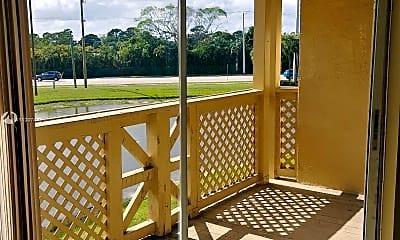 Patio / Deck, 4871 Via Palm Lakes 709, 2
