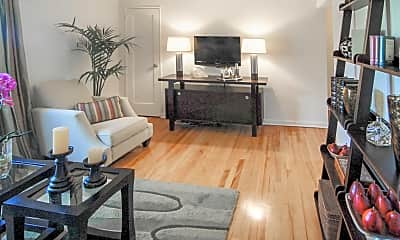 Living Room, Brookchester Apartments, 1