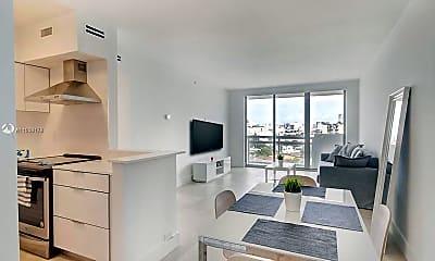 Living Room, 1500 Bay Rd 912S, 0