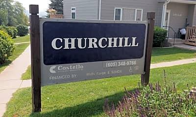 Churchill Apartments, 1