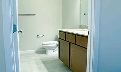 Bathroom, Riverwalk Flats And Rowhouses, 2