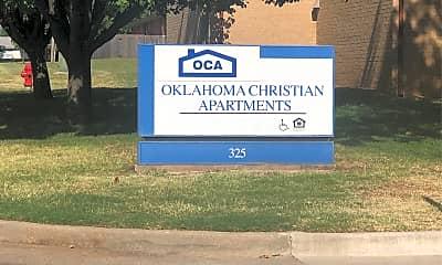 Oklahoma Christian Apartments, 1