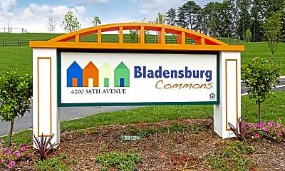 Community Signage, Bladensburg Commons, 2