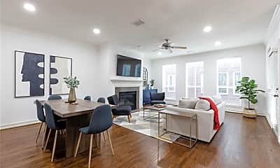Living Room, 2619 Colby St A, 0