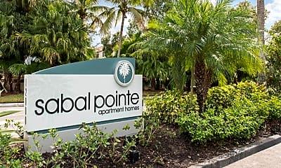 Community Signage, Sabal Point Apartments, 2