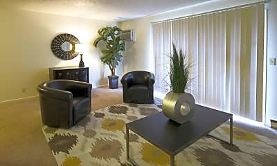 Living Room, Windemere Village Apartments, 1