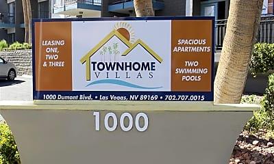 Community Signage, Townhome Villas, 2