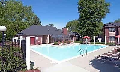 Pool, Wildwood Village Apartments, 0