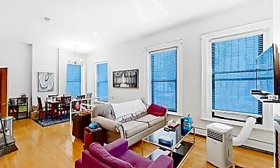 Living Room, 423 Shawmut Avenue, Unit 3, 2