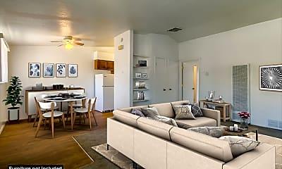 Living Room, El Sereno Apartments, 0