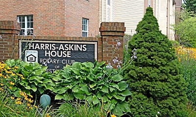 Community Signage, Harris Askins House, 2