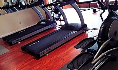 Fitness Weight Room, Falls Of West Oaks, 1
