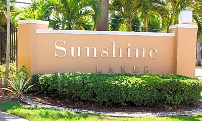 Community Signage, Sunshine Lakes, 0