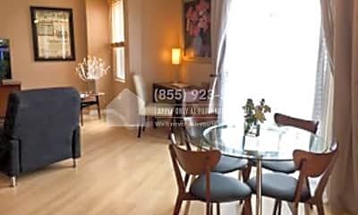 Dining Room, 1601 India St 507, 0