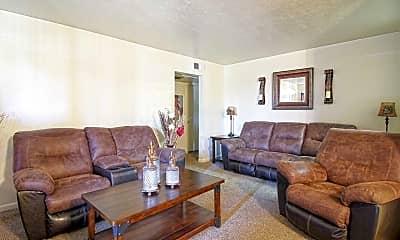 Living Room, Southern Oaks, 1