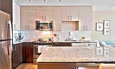 Kitchen, One Greenway, 1