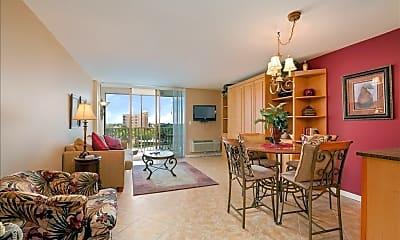 Living Room, 3 Bluebill Ave 611, 1