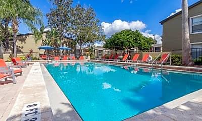 Pool, Parke East Apartments, 2