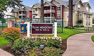 Community Signage, Plum Meadows, 1